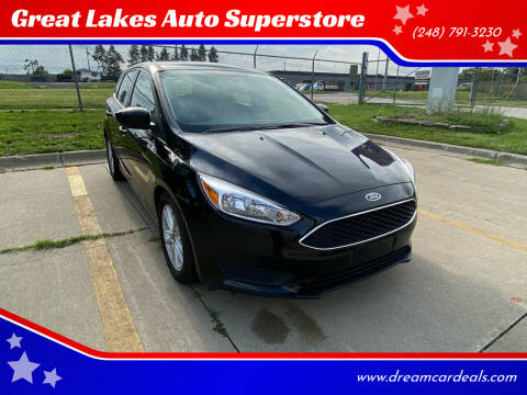2018 Ford Focus for sale at Great Lakes Auto Superstore 2 in Waterford MI