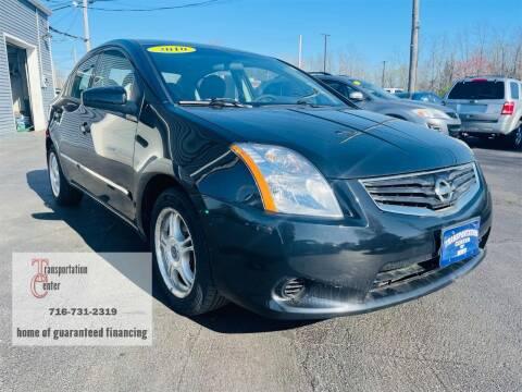2010 Nissan Sentra for sale at Transportation Center Of Western New York in Niagara Falls NY