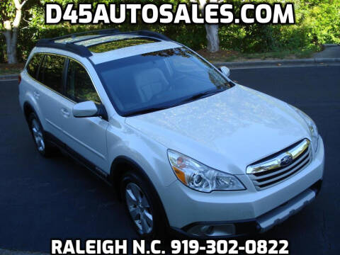 2011 Subaru Outback for sale at D45 Auto Brokers in Raleigh NC