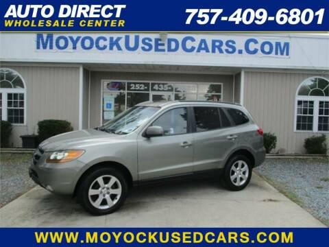2008 Hyundai Santa Fe for sale at Auto Direct Wholesale Center in Moyock NC