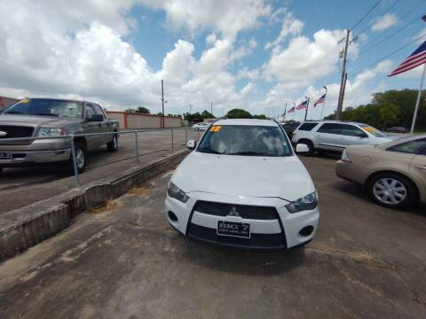 2012 Mitsubishi Outlander for sale at BIG 7 USED CARS INC in League City TX