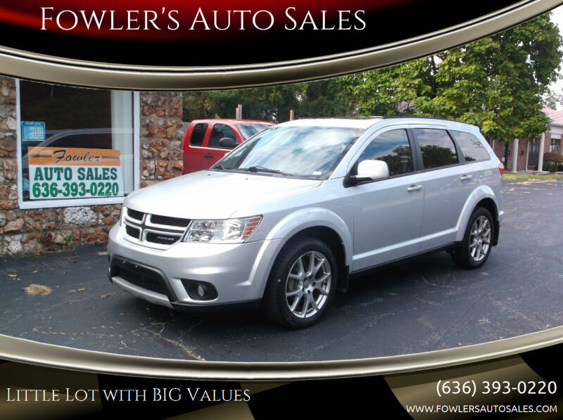 2011 Dodge Journey for sale at Fowler's Auto Sales in Pacific MO