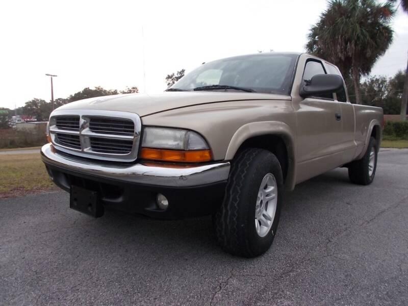 2003 Dodge Dakota for sale at LANCASTER'S AUTO SALES INC in Fruitland Park FL