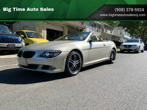 2009 BMW 6 Series for sale at Big Time Auto Sales in Vauxhall NJ