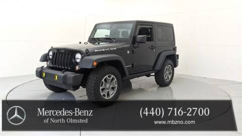 2015 Jeep Wrangler for sale at Mercedes-Benz of North Olmsted in North Olmstead OH