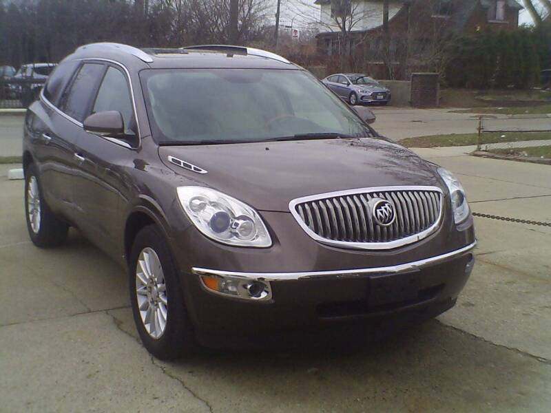 2008 Buick Enclave for sale at Fred Elias Auto Sales in Center Line MI
