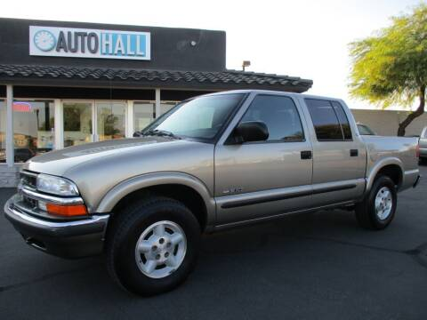 2001 Chevrolet S-10 for sale at Auto Hall in Chandler AZ