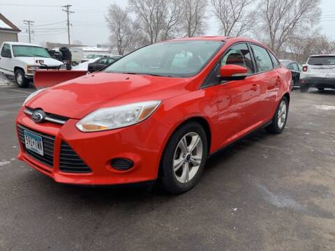 2014 Ford Focus for sale at MIDWEST CAR SEARCH in Fridley MN