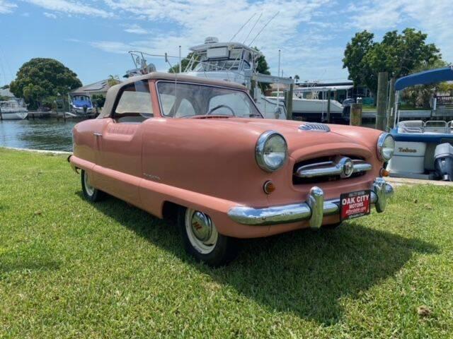 1955 Nash METROPOLTAN for sale at Oak City Motors in Garner NC