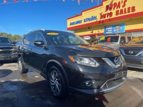 2015 Nissan Rogue for sale at Popas Auto Sales in Detroit MI