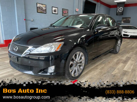 2009 Lexus IS 250 for sale at Bos Auto Inc in Quincy MA