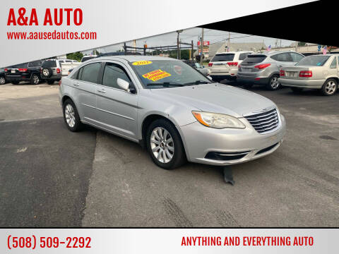 2011 Chrysler 200 for sale at A&A AUTO in Fairhaven MA