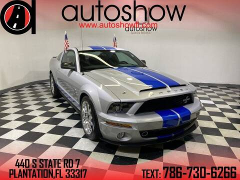 2008 Ford Shelby GT500 for sale at AUTOSHOW SALES & SERVICE in Plantation FL