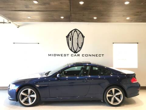 2008 BMW 6 Series for sale at Midwest Car Connect in Villa Park IL