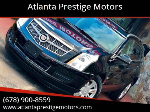 2010 Cadillac SRX for sale at Atlanta Prestige Motors in Decatur GA