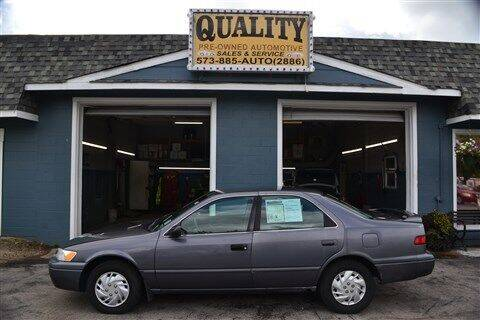 1997 Toyota Camry for sale at Quality Pre-Owned Automotive in Cuba MO