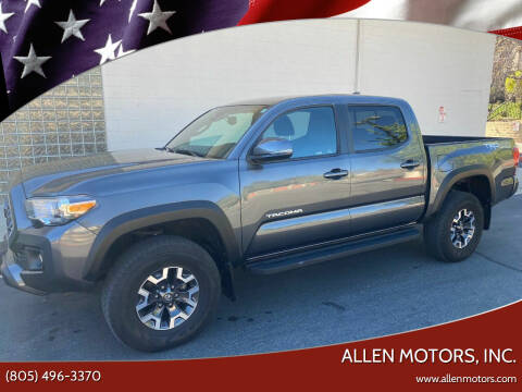 2019 Toyota Tacoma for sale at Allen Motors, Inc. in Thousand Oaks CA