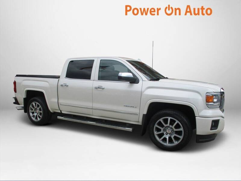 2015 GMC Sierra 1500 for sale at Power On Auto LLC in Monroe NC