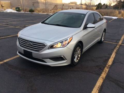 2017 Hyundai Sonata for sale at AROUND THE WORLD AUTO SALES in Denver CO