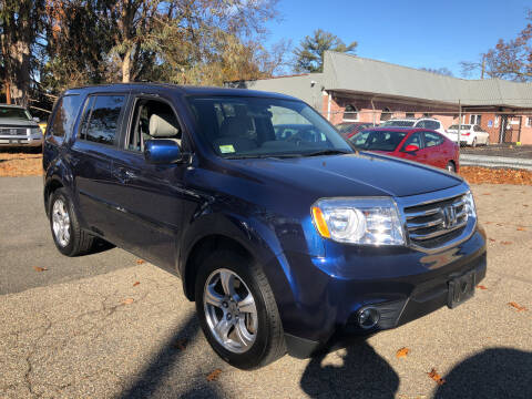 2015 Honda Pilot for sale at Chris Auto Sales in Springfield MA