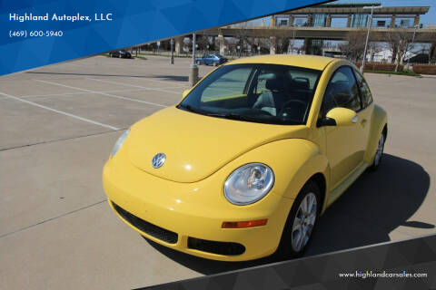 2009 Volkswagen New Beetle for sale at Highland Autoplex, LLC in Dallas TX