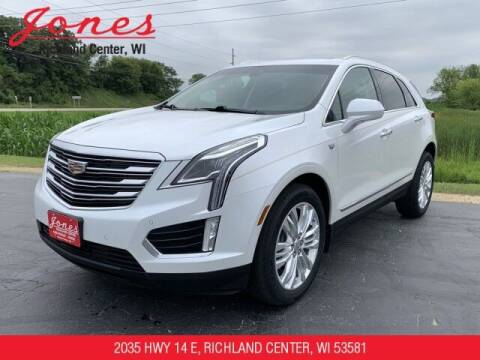 2017 Cadillac XT5 for sale at Jones Chevrolet Buick Cadillac in Richland Center WI