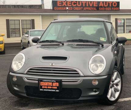 2003 MINI Cooper for sale at Executive Auto in Winchester VA