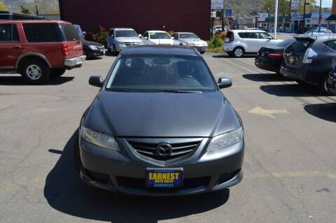 2005 Mazda MAZDA6 for sale at Earnest Auto Sales in Roseburg OR