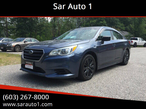 2015 Subaru Legacy for sale at Sar Auto 1 in Belmont NH