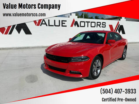 2016 Dodge Charger for sale at Value Motors Company in Marrero LA