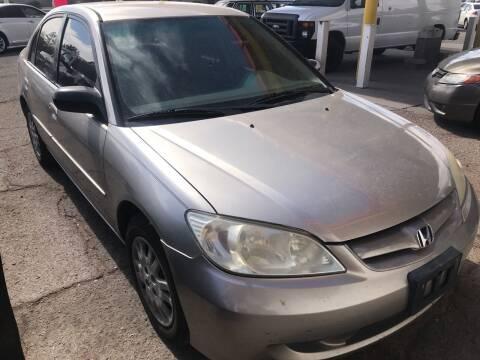 2004 Honda Civic for sale at Fiesta Motors Inc in Las Cruces NM