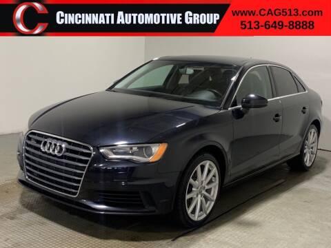2015 Audi A3 for sale at Cincinnati Automotive Group in Lebanon OH