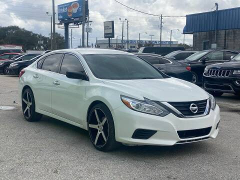 2016 Nissan Altima for sale at Marvin Motors in Kissimmee FL