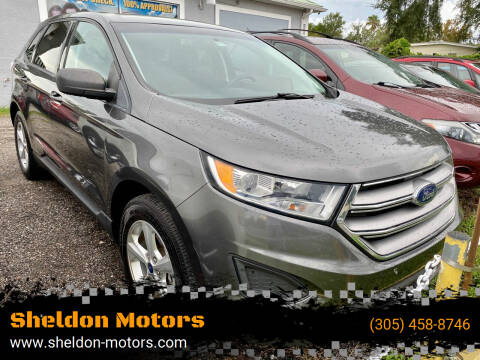 2017 Ford Edge for sale at Sheldon Motors in Tampa FL