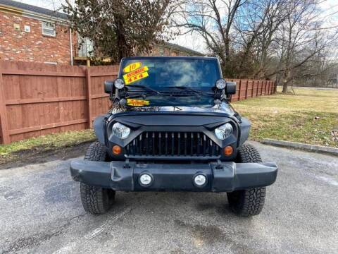 2010 Jeep Wrangler Unlimited for sale at Motor Max Llc in Louisville KY
