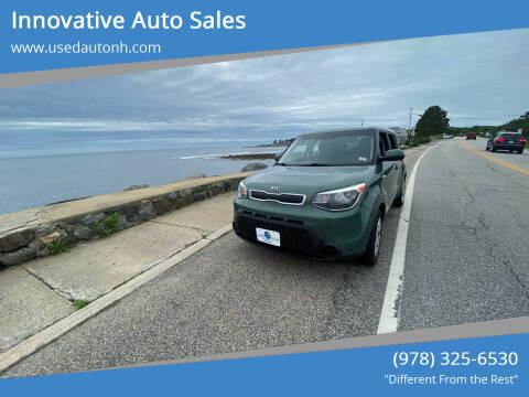 2014 Kia Soul for sale at Innovative Auto Sales in North Hampton NH