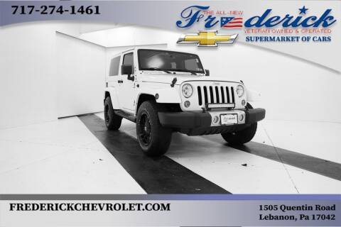 2015 Jeep Wrangler for sale at Lancaster Pre-Owned in Lancaster PA