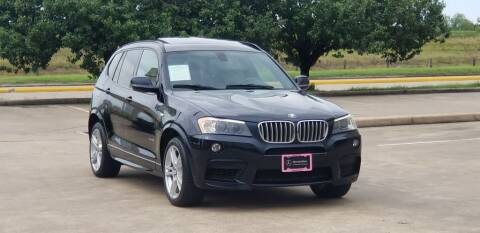 2013 BMW X3 for sale at America's Auto Financial in Houston TX