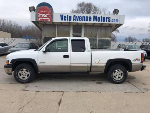 2002 Chevrolet Silverado 1500 for sale at Velp Avenue Motors LLC in Green Bay WI