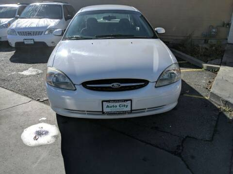 2001 Ford Taurus for sale at Auto City in Redwood City CA
