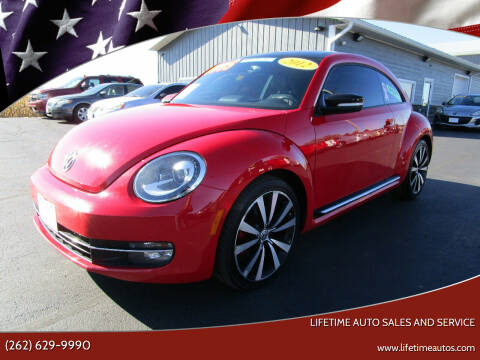 2012 Volkswagen Beetle for sale at Lifetime Auto Sales and Service in West Bend WI