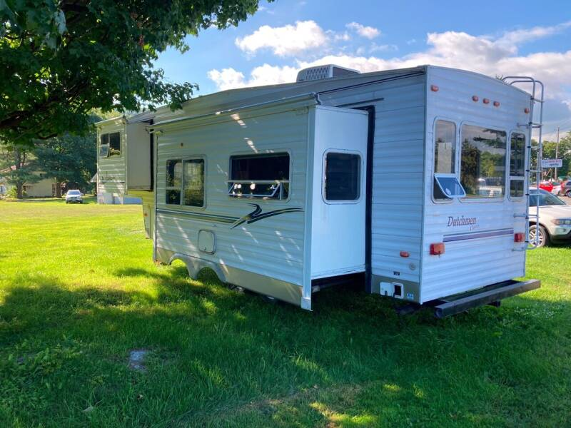 2002 Dutchmen 30 ft 5th wheel for sale at JERRY SIMON AUTO SALES in Cambridge NY