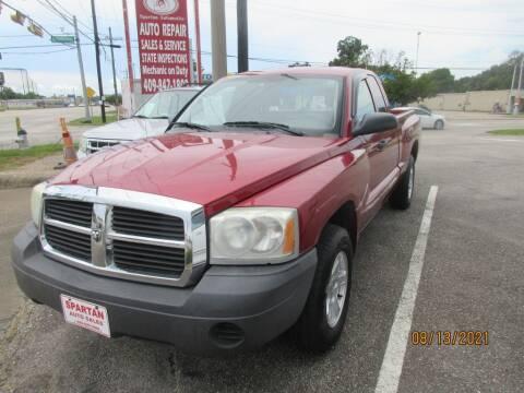2007 Dodge Dakota for sale at Spartan Auto Sales in Beaumont TX