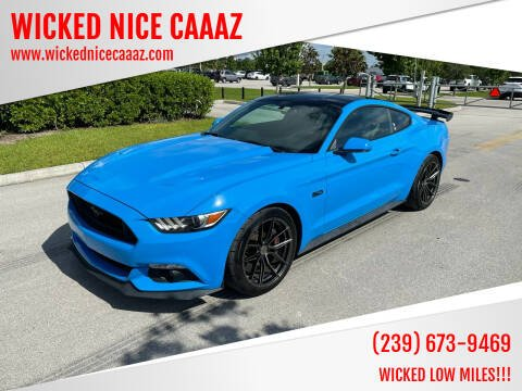 2017 Ford Mustang for sale at WICKED NICE CAAAZ in Cape Coral FL