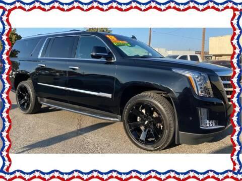 2018 Cadillac Escalade ESV for sale at American Auto Depot in Modesto CA