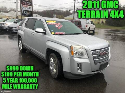 2011 GMC Terrain for sale at D&D Auto Sales, LLC in Rowley MA