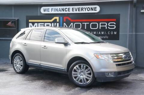 2008 Ford Edge for sale at Meru Motors in Hollywood FL