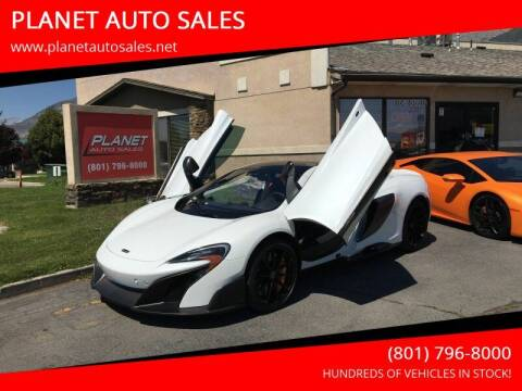2016 McLaren 675LT for sale at PLANET AUTO SALES in Lindon UT