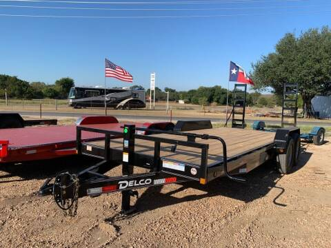 """2021 DELCO  -  83""""X20' H. Duty - 14K for sale at LJD Sales in Lampasas TX"""