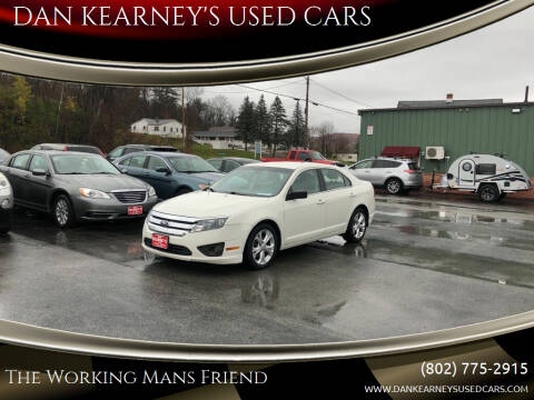 2012 Ford Fusion for sale at DAN KEARNEY'S USED CARS in Center Rutland VT